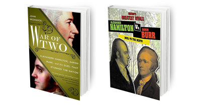 War of Two + Alex Ham vs Aaron Burr Cover Combo