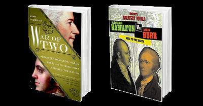 War of Two + Alex Ham vs Aaron Burr Cover Combo