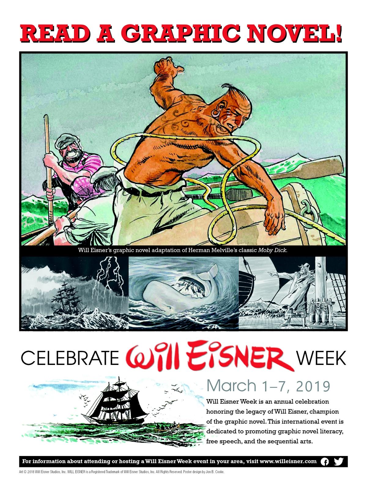 """""""Celebrate Will EIsner Week"""" image"""