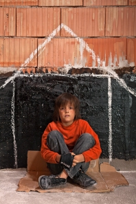 Homeless boy_383085028