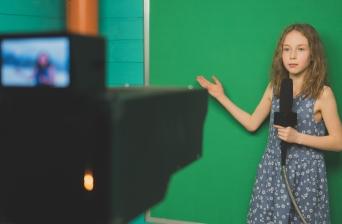 TV Studio Kid
